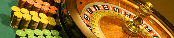 Table de roulette au Casino